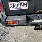 Noman Safaris License Plate