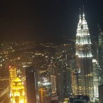 Beautiful view from our room at G Tower Hotel not forgetting the friendly staffs