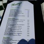 drink menu!