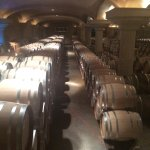 Barrel room is way more impressive than my photo shows.