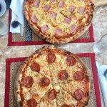 The Pepperoni and Hawaiian Pizzas :)