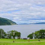 Loch Ness as seen from the visitor center