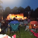 Shakespeare in Delaware Park - Macbeth Stage