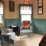 Tilghman Island Room: Queen Anne Turret sitting room