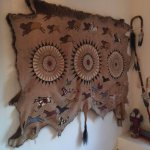 One of the Native American artifacts at Barn Anew