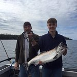 King and Silver Salmon