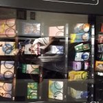 Items in snack machine