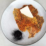Manchego hibiscus, potato,black quinoa