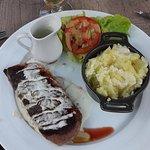 Magret de canard sauce Roquefort (ou poivre vert)