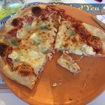 Pizza 4 fromages, dans le menu à 17€40