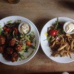 Falafel & whitebait starters/light dishes