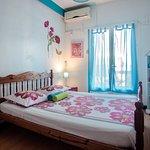 chambre 112 double avec salle de bain partagée exterieur,balcon clim,wiffi