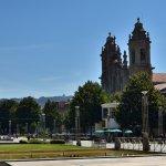 Da praça da Republica podemos ver a igreja dos congregados