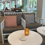 Magnificent  A beautiful spot to relax and unwind.  Sea breeze is just beautiful  Service settin