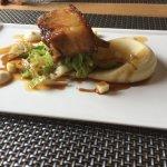 Pork belly main course