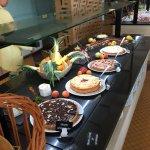 Le magnifique buffet des desserts