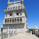 Highly decorated south side view of Belem Tower