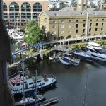 Just a part of St Katerine's Dock
