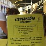 Photo de L'Entrecôte