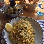 Crab Pasta!
