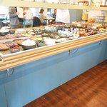 espace buffet petit déjeuner