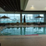 Pool and workout area ...hottub and other workout rooms (free weight room and stretch/body weigh
