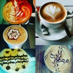 Enjoy our illy coffee and beautiful latte art