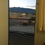 Woke up to this view and the Welcome to Fillmore sign. Beautiful.