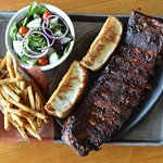 Rib Bone Tuesdays - ribs by the bone are 40% off.