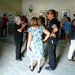 L'interno del museo. La signora Elsa Bersani e il marito Piergiorgio Carrara si occupano delle v