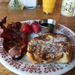 French toast, nightly sunsets, hummingbirds, and huckleberry pancakes!