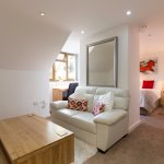 Studio Apartment self catering, breakfast option available.