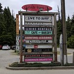 Many food options 5 minutes down the highway from Tofino.