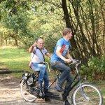 Een fietstocht is nog leuker met de tandems