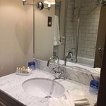 Our bathroom - ample space for just the two of us!