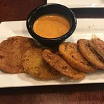 Delicious Fried Green Tomatoes with Comeback Sauce