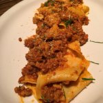 Wide pappardelle