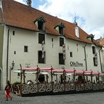 The Olde Hansa right nearby is a good experience (beer/food)