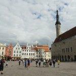 Old Town Tallinn is 2 min walk.