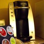 Keurig Coffee Maker In-Room Amenities