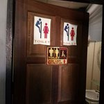 Unisex washrooms