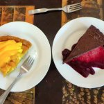 Dessert at Cafe Christine | The Rose Table