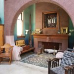 Inglenook in the Lew Wallace Study