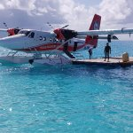 Seaplane at hte jetty