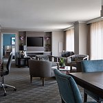 The Presidential Suites is the epitome of  newly renovated sophisticated style