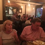Auntie Valerie & Ger loving a good curry