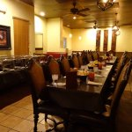 Let us serve your party in our beautiful exclusive party room seats up to 45 !