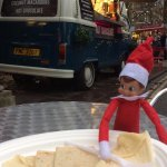 The Margaret Rose Elf on the Shelf at the York Christmas Market