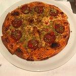 Pizza Pistazien pikante sensationell