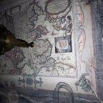 Kart i soverommets tak
